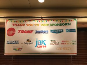 "We were a proud sponsor of JAX Refrigeration, Inc Cares, ""Turning 50 With a Sense of Purpose"" which celebrated Mark Lowery's 50th birthday!"