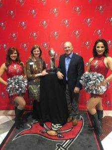 American Cancer Society's Tampa Cattle Baron's Ball sponsor party at One Buc Place! Thank you to the Tampa Bay Buccaneers and Coca-Cola for hosting this fabulous event!