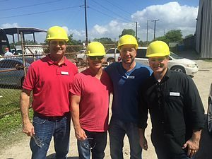 Leadership Tampa Bay Leadership Tampa Bay touring Tampa Steel Erecting manufacturing facility.
