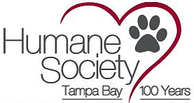 Humane Society of Tampa Bay Dedicated to ending animal homelessness and providing care and comfort for companion animals in need. The Humane Society of Tampa Bay is a limited admission shelter. We only accept animals that we feel we can adopt. We do not take in stray animals. They need to be taken to the county facility where their owners can look for them.
