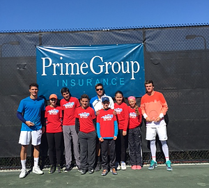 Sunrise Tennis Academy PGI sponsored Sunrise Tennis Academy. What a great day in Florida for Justin DiMaio and his team!