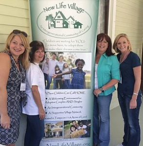 Lamb Manor & New Life Village Kimberly, Patty, Cheryl and Sheila attended an event at the historic Lamb Manor benefiting New Life Village.