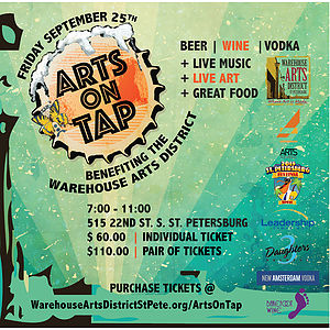 Arts on Tap - Leadership Tampa Bay PGI was a Stage Sponsor at the Arts On Tap in Saint Petersburg.